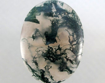 Green Moss Agate Designer Cabochon  (Washington) SALE 25% OFF