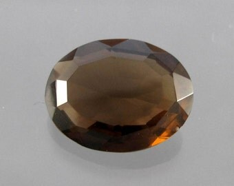 Loose Smoky Quartz Faceted Gemstone (Brazil)