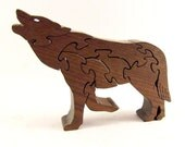 Wolf Wood Puzzle