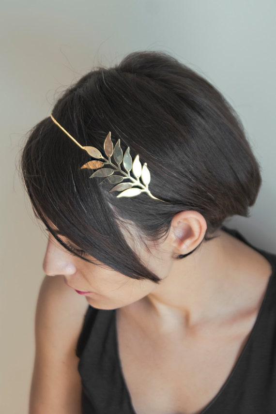 PALME D'OR - Hair Jewelry, Gold Plated,Rose Gold,Hair Accessories,Head Piece