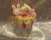 Kawaii Fairy Kei Scented Cupcake Ring