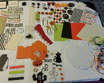 Halloween Pocket  letter kit