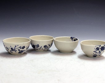 holiday presents  made by hand gifts porcelain tea bowls wiskey shooters office party gifts chinese tea bowls cider bowls  gifts party gifts