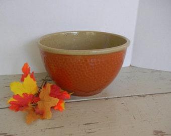 Vintage Watt Ovenware Pottery Mixing Serving Bowl Kla Ham Rd 43-17