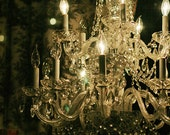 "New Orleans Photograph. French Quarter Antique Chandelier. ""New Orleans Chandelier"" Art. Dark Romance, Royal Street, 8x10 11x14, 16x20 +"