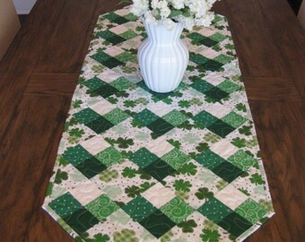 St. Patrick's Day Table Runner SALE