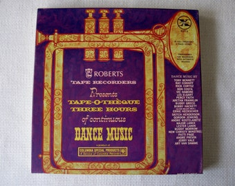 Roberts Sound Tape-O-Theque Three Hours of Dance Music Reel-to-Reel Tape - Limited Collectors' Edition