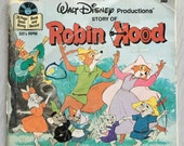 Disney's Robin Hood book and record set