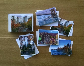 Fine Art NYC Notecards Variety Pack of 30 Cards - New York Greeting Cards