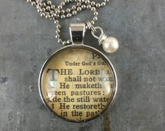 One Verse Bible necklace 2017 verse of the year