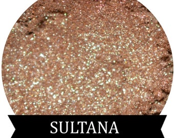 Gold Sparkle Eyeshadow  SULTANA