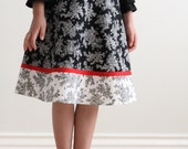 Child A-line Skirt Sewing Pattern CHLOE Girls Skirt PDF Sizes 6-12 ONLY