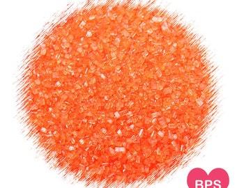 Orange Sparkling Sugar, Orange Sprinkles, Edible Sprinkles, Halloween Sprinkles, Fall Sprinkles, Cookie Sprinkles, Cupcake Sprinkles