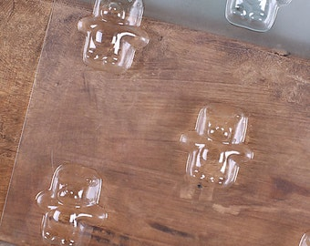 Gummy Bear Chocolate Molds, Bear Candy Molds, Baby Shower Candy Molds,  Birthday Candy