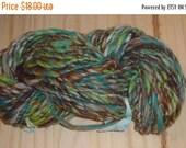 Fall Sale - Handspun Wool Yarn - Lakeside - 78 Yards