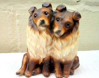 Mid Century Norleans Collie Figurine