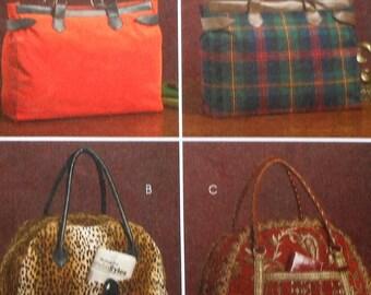 Satchel Bags Sewing Pattern UNCUT McCalls M5487 bag