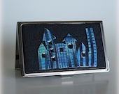 Business Card Case - Metal/Polymer Clay - Building Your Business