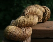 Royal Parchment - Lotus Silk/BFL Sock yarn - 100g