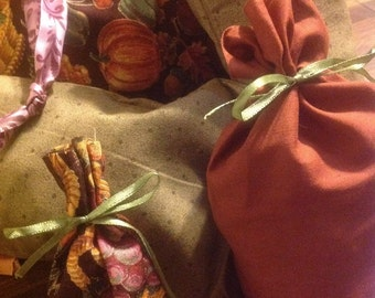 A Taste of Autumn Lot of 5 Gift Bags