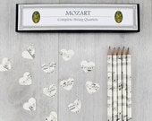 Music Pencil Set. A set of five sheet music pencils. Perfect for music fans