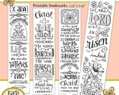 40% OFF Easter Color Your Own Jesus is Alive Bible Bookmarks Bible Journaling INSTANT Download Scripture Digital Printable Christian Religio