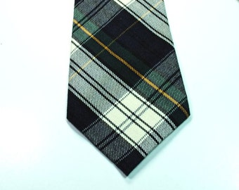 Blue and Green Plaid Necktie, Plaid Neckties, Custom Neckties, Blue Plaid Neckties, Mens Neckties
