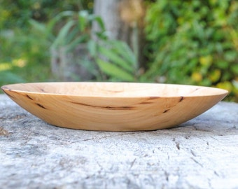 Wood Bowl, Fruit Bowl, Pure and Simple Maple, Serving Bowl hand turned