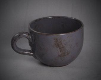 Purple Ceramic Jumbo Mug
