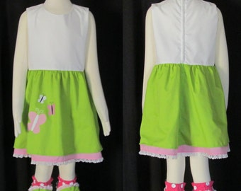 Child Size My Little Pony Equestria Girls Fluttershy Cosplay Costume Size 2 3 4 5 6 7 8 9 10 11 12 14