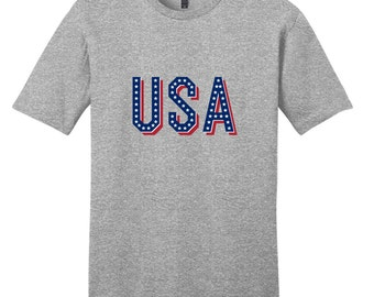 USA - Patriotic American 4th Of July T-Shirt