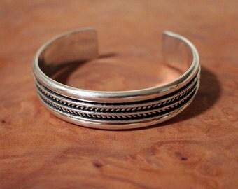 Navajo Cuff Bracelet Tom Hawk