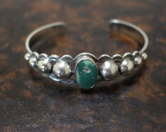 Maisel's Silver Bracelet Vintage Cuff