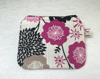Coin purse, stash bag, zipper bag, zipper pouch, pouch, dash bag, stash and go bag, stash and dash bag,