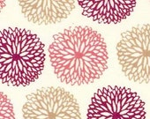 Japanese Tenugui Cotton Towel Fabric, Hand Dyed Fabric, Chrysanthemum Flower, Floral Design, Wall Art Hanging, Gift Wrapping, Scarf, h089