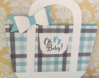 Diaper bag shower invitations - 25 Diaper Bag Shower invitations - Diaper Bag - Diaper Bag invites - baby shower