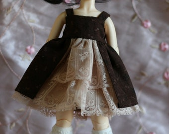 Chocolate and Lace - lolita dress for YoSD BJD