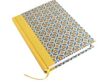 Student Agenda 2017-2018, Academic Daily Planner, Student Planner, yellow teal geometric retro