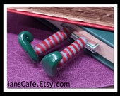 Glow in the Dark Elf Legs Bookmark - Great Stocking Stuffer