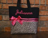 Personalized monogram girl diaper bag/baby shower gift