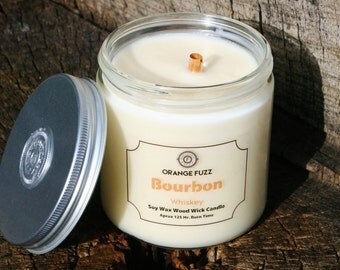 Bourbon Whiskey Soy Candle