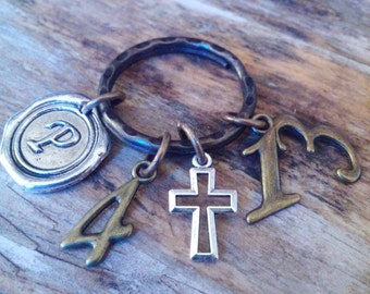 Christian keyring-I can do all things through Christ who strengthens me-Philippians 4:13