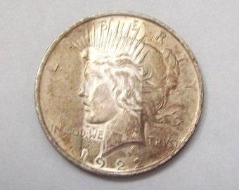 1922 USA Silver Dollar Near Mint Condition