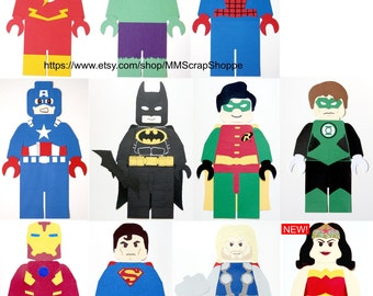 LEGO Superhero Party Decorations