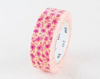 MT ex 2016 NEW- Japanese Washi Masking Tape - Pink Little Flower