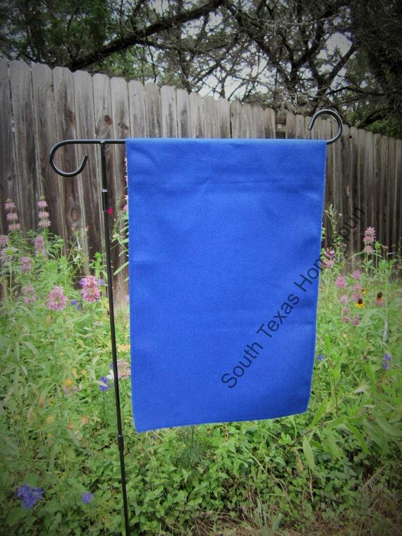 Sale Royal Blue Canvas Garden Flag Blank And By Southtexashomespun