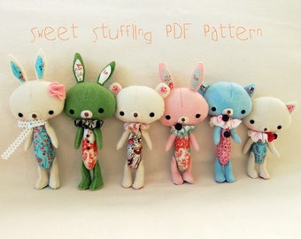 Sweet Stuffling PDF Pattern - Instant Download