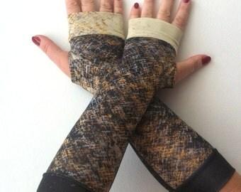SALE GLOVESMelange fingerless   gloves