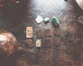 Skulls - Copper Art pin