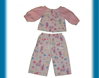 Pajamas for Fashion Doll (Maplelea or American Girl)